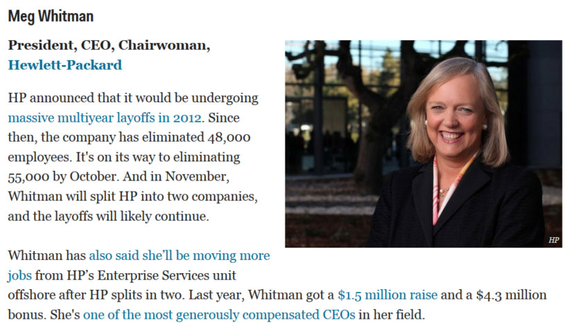 """Business Insider's List of """"… coolest women in Silicon"""